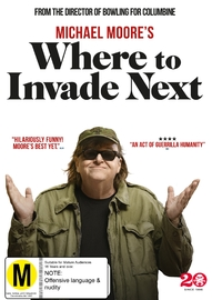 Where To Invade Next on DVD