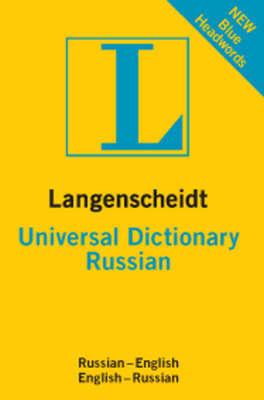 Russian Langenscheidt Universal Dictionary