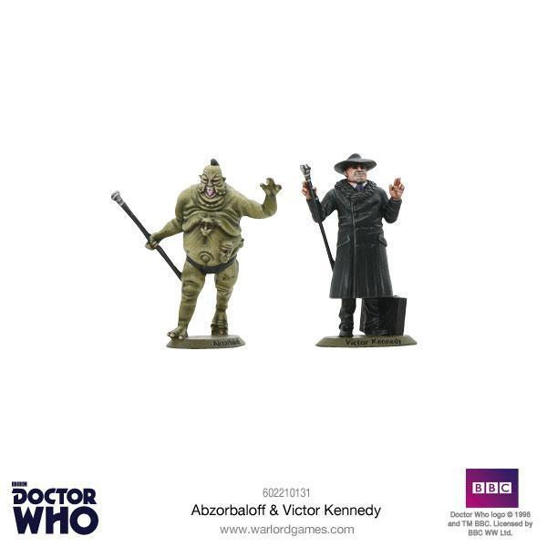 Doctor Who: Abzorbaloff & Victor Kennedy image