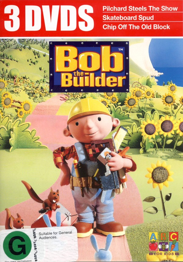 Bob The Builder - 3 DVDs (3 Disc Set) on DVD image