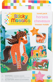 The Orb Factory: Sticky Mosaics Travel Pack - Horses