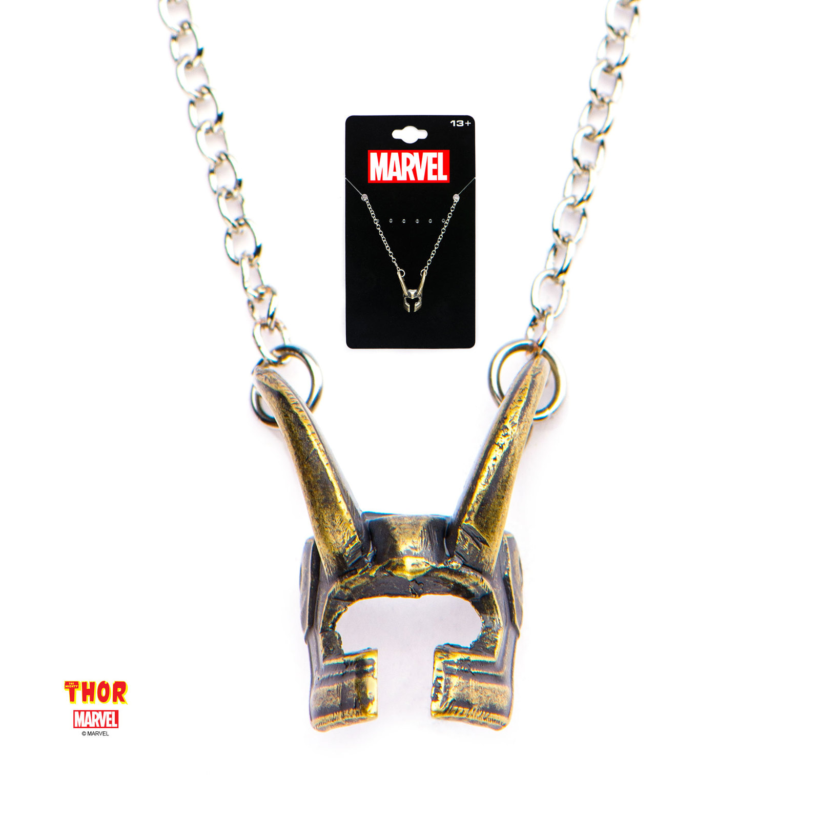 Marvel: Loki Helmet - Pendant Necklace image
