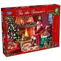 Holdson: 1000 Piece Puzzle - Tis The Season II (Santa By The Fire)