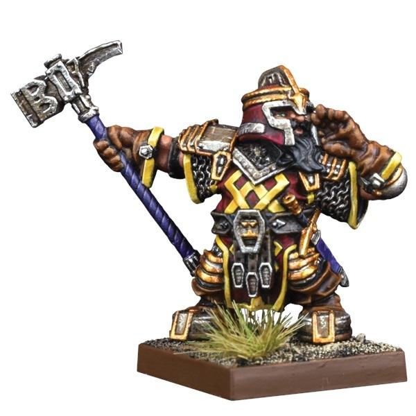 Kings of War Vanguard: Dwarf Support Pack Shieldbreaker