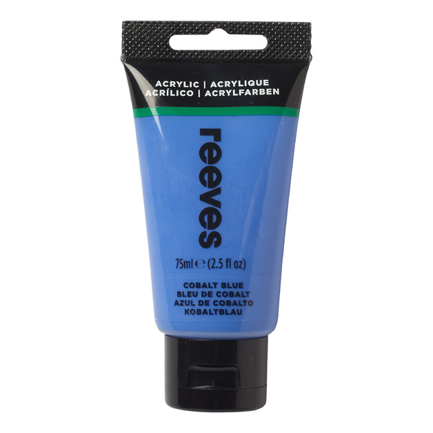 75ml Reeves Fine Acrylic - Cobalt Blue