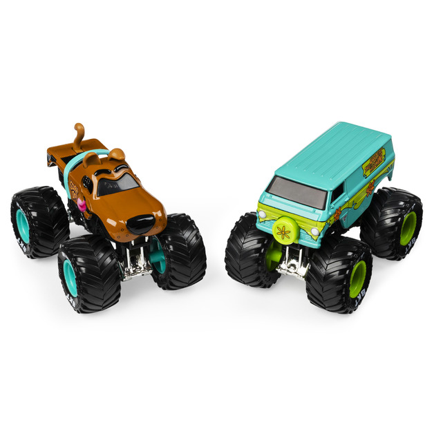 Monster Jam: 1:64 Scale Diecast 2-Pack - Scooby-Doo and The Mystery Machine