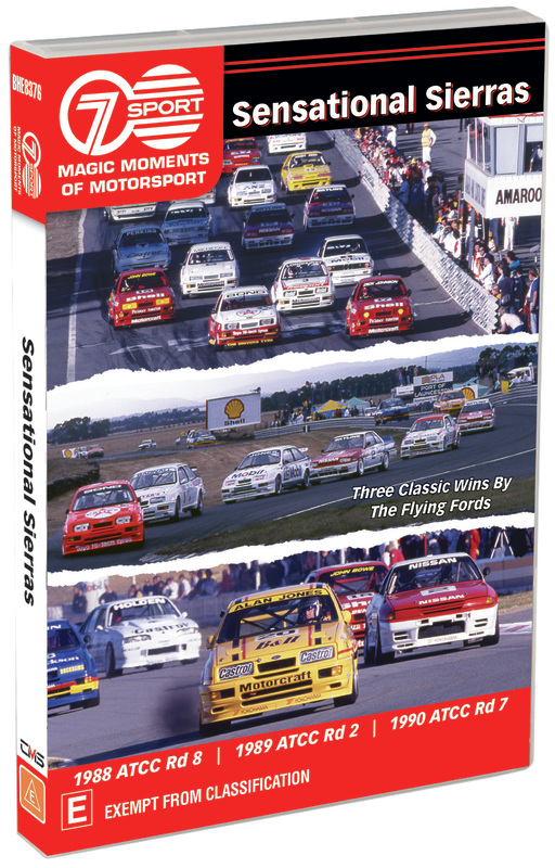 Magic Moments Of Motorsport: Sensational Sierras on DVD