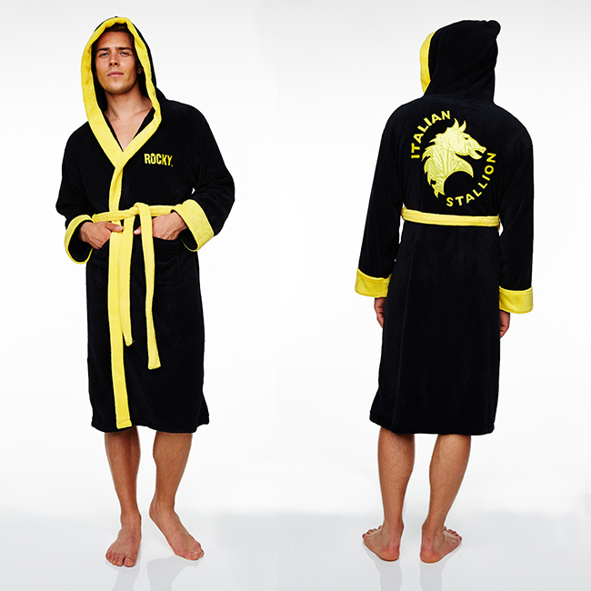 ... Rocky Hooded Towelling Hooded Bath Robe image ... 6c878a508