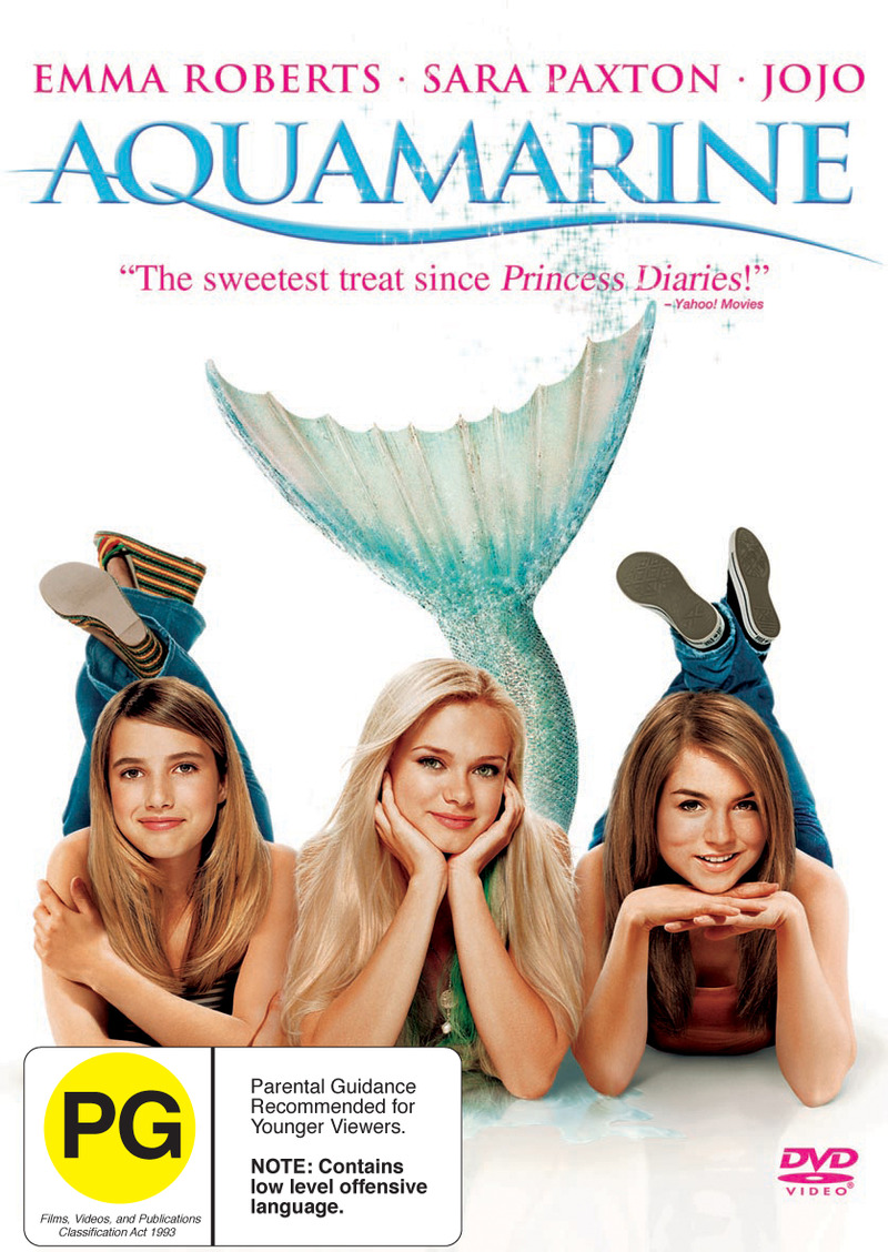 Aquamarine on DVD image