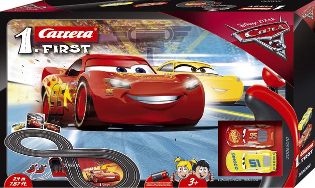 Carrera First: Disney Cars 3 - Slot Car Set #1