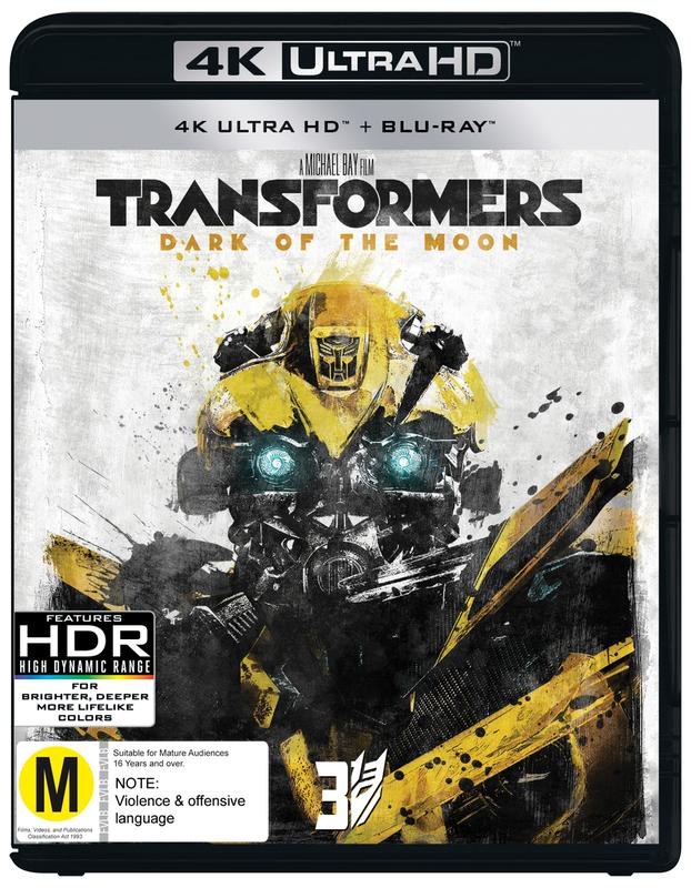 Transformers: Dark Of The Moon on UHD Blu-ray