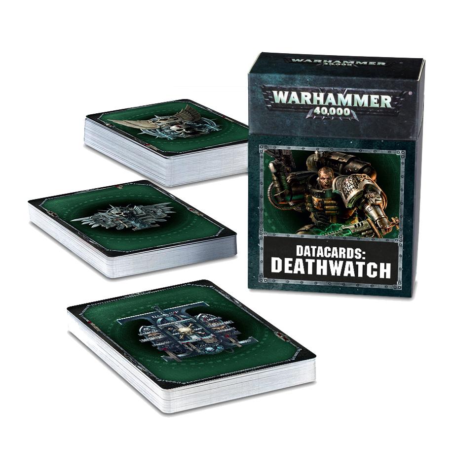 Warhammer 40,000 Datacards: Deathwatch image