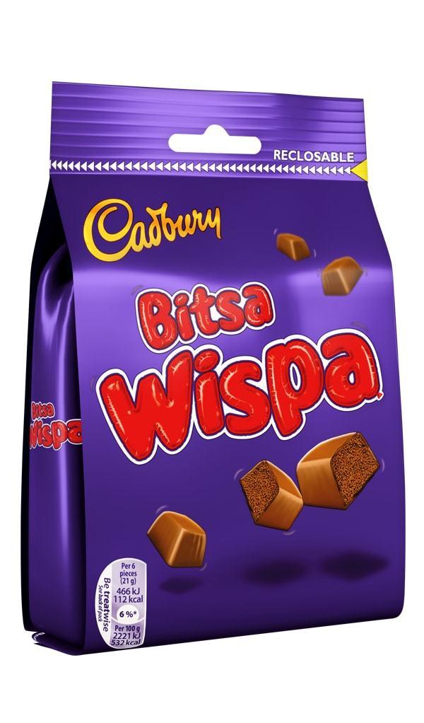 Cadbury: Bitsa Wispa (110g) image
