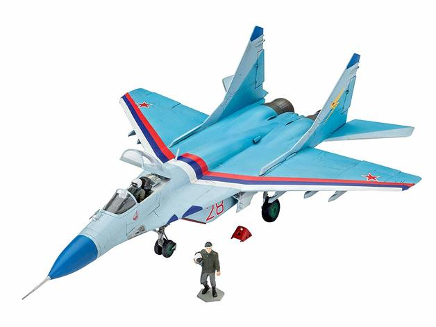 Revell 1:72 MiG-29S Fulcrum Plastic Model Kit