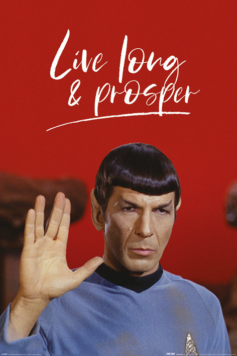 Star Trek: Maxi Poster - Live Long and Prosper (1033)