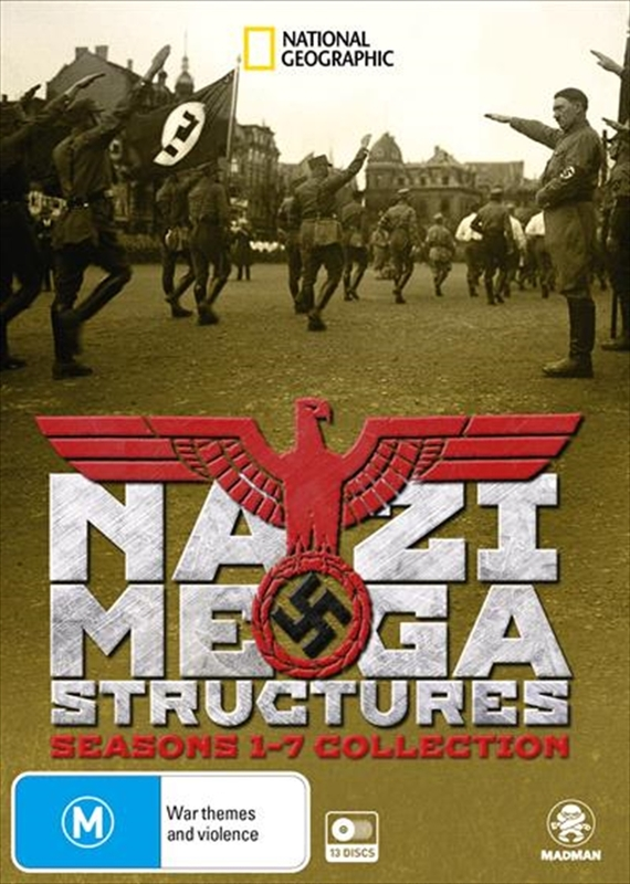 Nazi Megastructures: Seasons 1-7 Collection on DVD