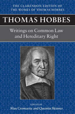 Thomas Hobbes: Writings on Common Law and Hereditary Right image