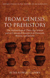 From Genesis to Prehistory by Peter Rowley-Conwy image