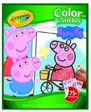 Colour N Sticker Book Peppa Pig - Crayola