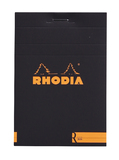 Rhodia with Cream Paper (Lined, Black)
