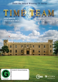 Time Team - Syon House & Other Digs - Series 11 on DVD