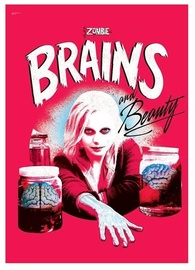 iZombie: Brains and Beauty - MightyPrint Wall Art