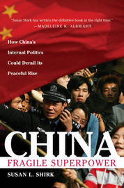 China by Susan Shirk