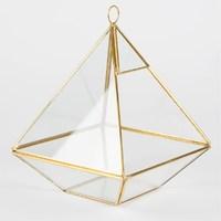 Brass Pyramid Terrarium image