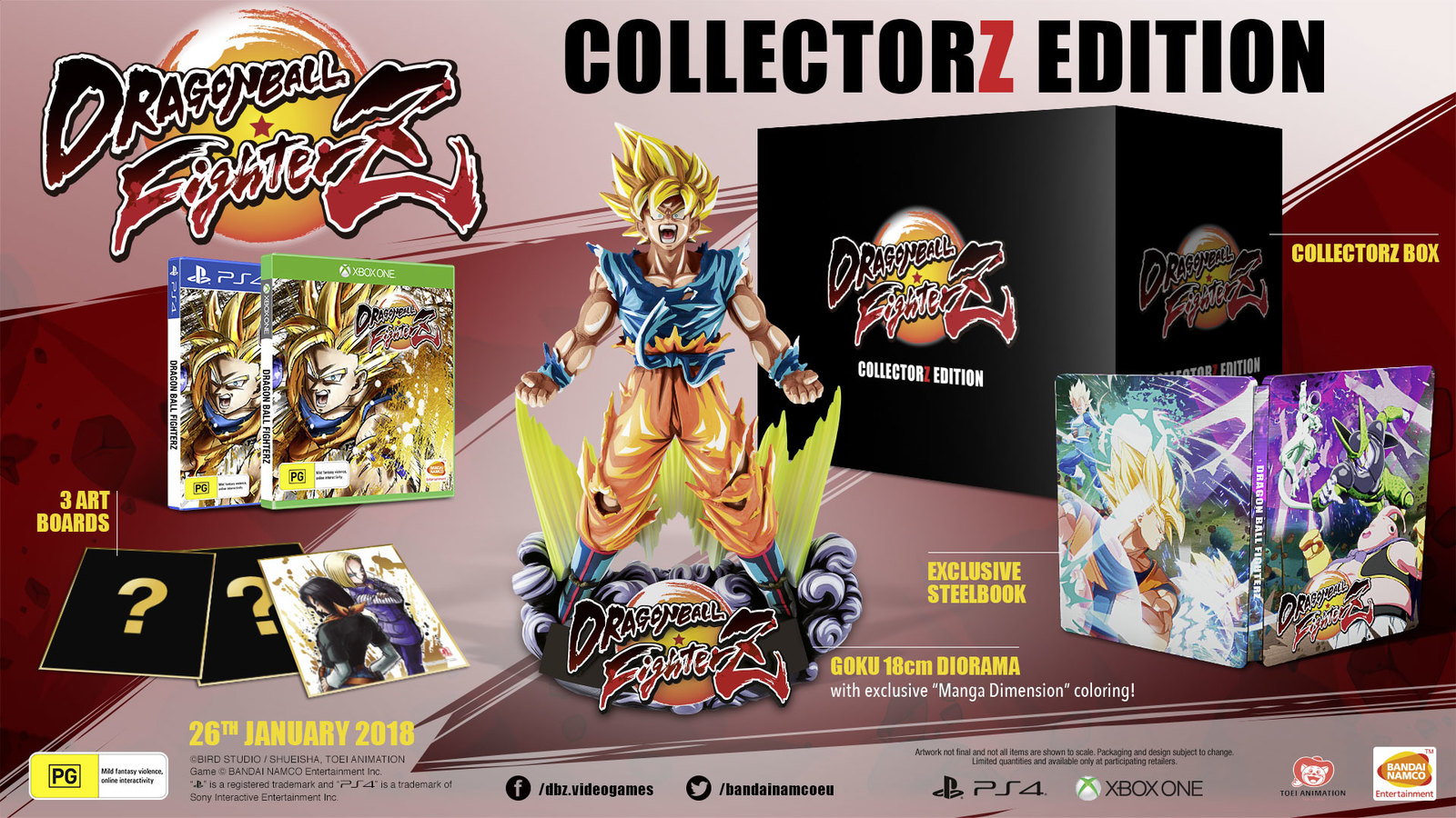 Dragon Ball FighterZ Collector's Edition for PS4 image