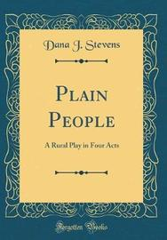 Plain People by Dana J Stevens image