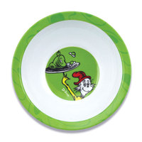 Bumkins: Dr Seuss Melamine Bowl - Green Eggs image