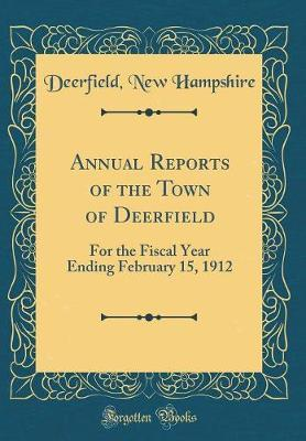 Annual Reports of the Town of Deerfield by Deerfield New Hampshire image