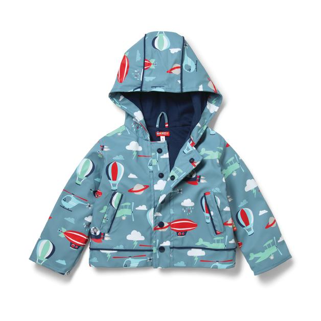 Raincoat Space Monkey - Size 7-8