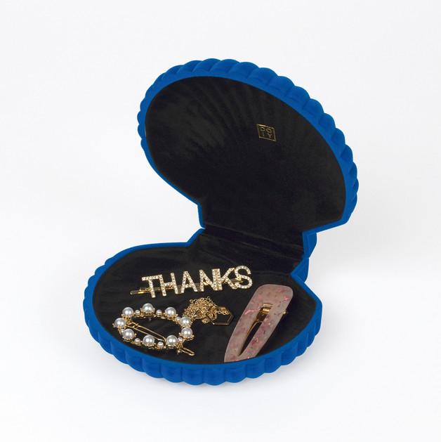 DOIY: Shell Jewelry Box - Blue