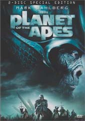 Planet of the Apes (2001) on DVD