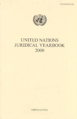 United Nations Juridical Yearbook 2000 by United Nations image