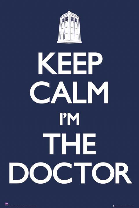 Doctor Who Keep Calm Wall Poster (174)