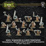 Hordes: Trollblood Trollkin Kriel Warriors Unit (3 x Weapon Attachments)