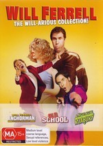 Will Ferrell - The Will-arious Collection! (3 Disc Box Set) on DVD
