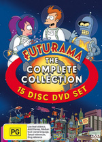 Futurama: The Complete Collection (15 Discs) on DVD