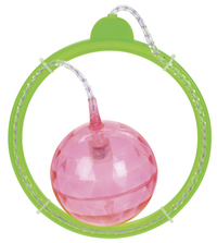 Toysmith: Flashing Skip Ball - Green