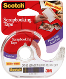 Scotch Double Sided Acid Free Scrapbooking Tape 12x7mm x 7.62m