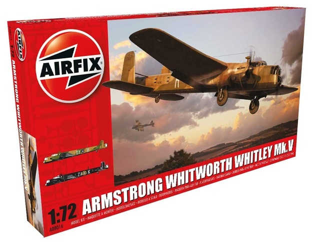 Airfix 1:72 Armstrong Whitworth Whitley Mk.V 1:72 Model Kit