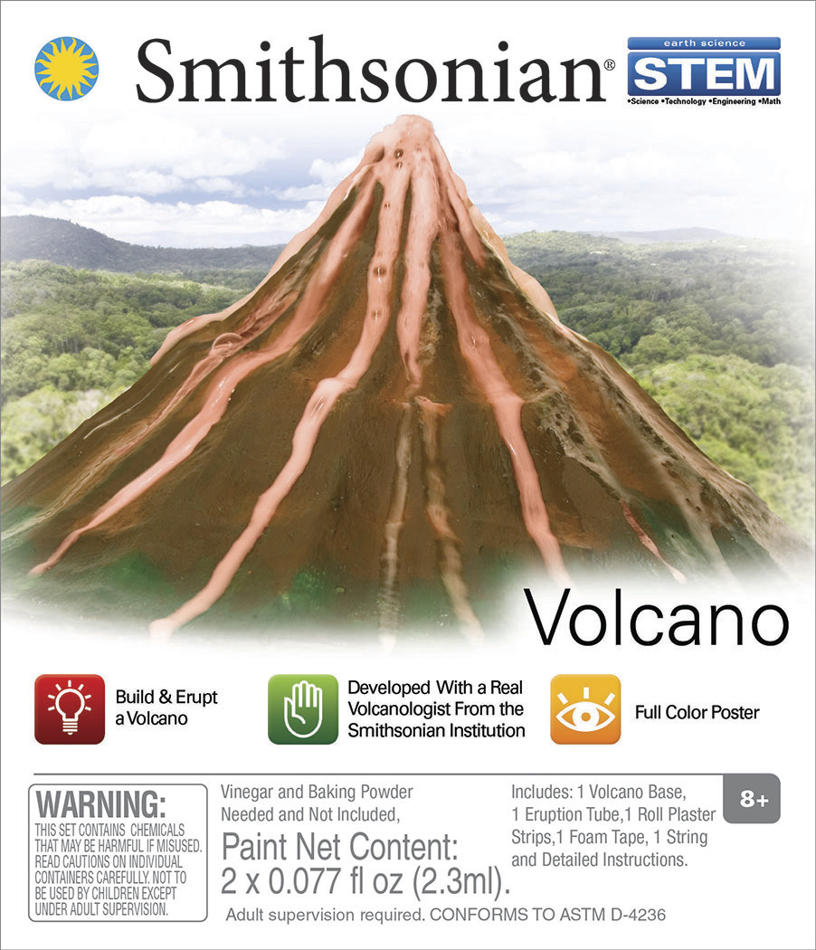 Smithsonian: Micro Science kits - Volcano image