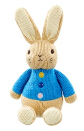 """Peter Rabbit: Peter """"Made With Love"""" - Knitted Plush"""