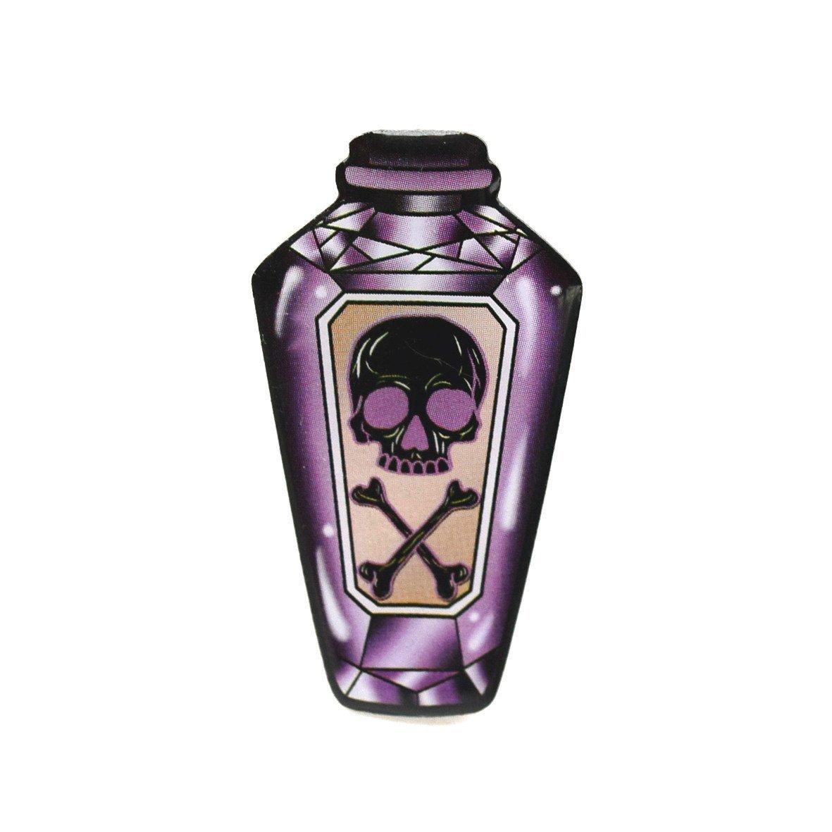 Purple Poison Bottle Brooch image