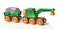 Brio: Railway - Clever Crane Wagon