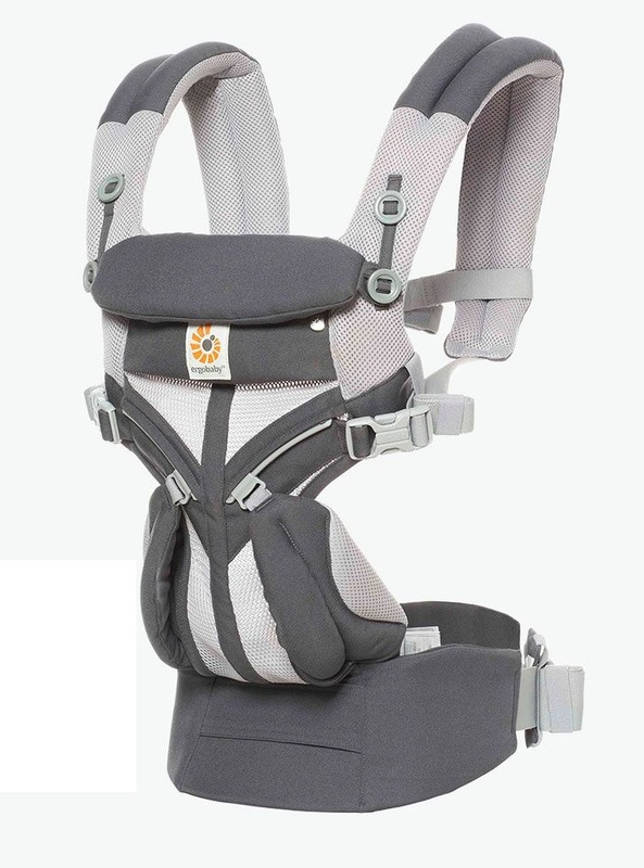 Ergobaby: Omni 360 - Cool Air Mesh All-In-One Baby Carrier (Carbon Grey)