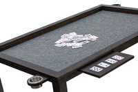 Solid Birch Wood Board Game and Poker Table