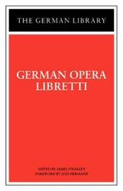 German Opera Libretti by James Steakley image